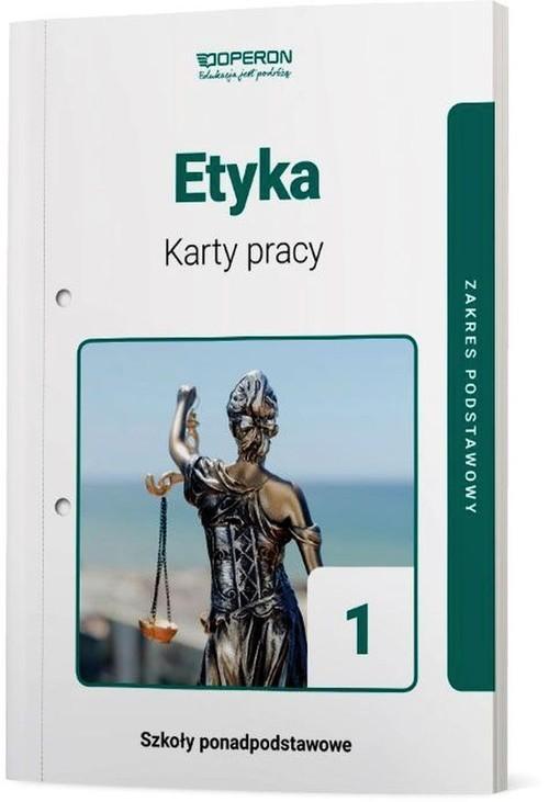 okładka Etyka Karty pracy Zakres podstawowy Szkoła ponadpodstawowaksiążka     