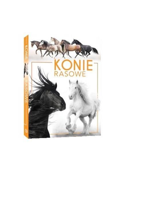 okładka Konie rasowe, Książka | Patrycja Zarawska