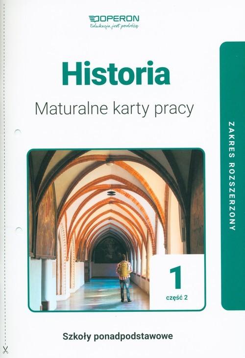 okładka Historia 1 Maturalne karty pracy Część 2 Zakres rozszerzony Szkoły ponadpodstawoweksiążka |  | Dawidziuk Marek