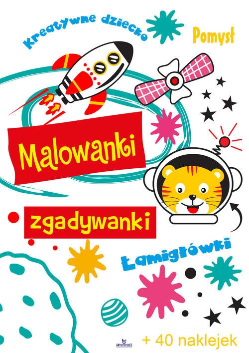 okładka Malowanki zgadywankiksiążka |  | Matusiak Monika