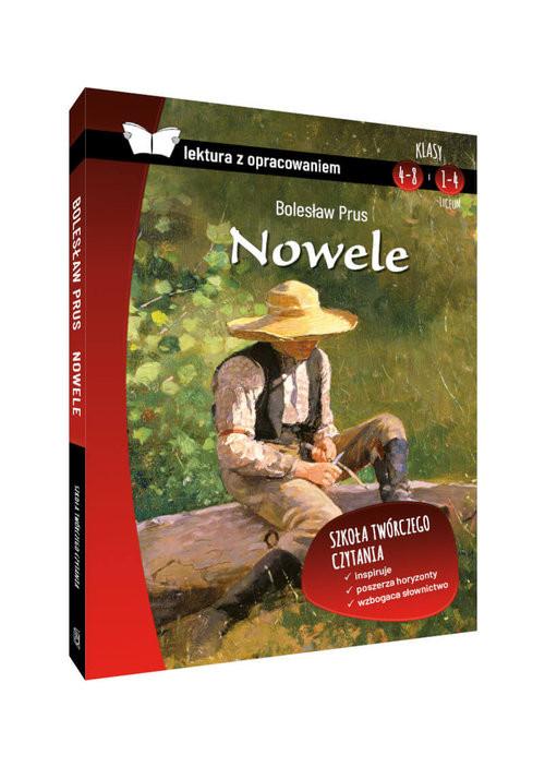 okładka Nowele Lektura z opracowaniem, Książka | Bolesław Prus
