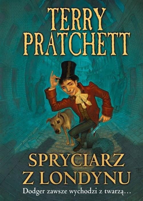 okładka Spryciarz z Londynu, Książka | Terry Pratchett