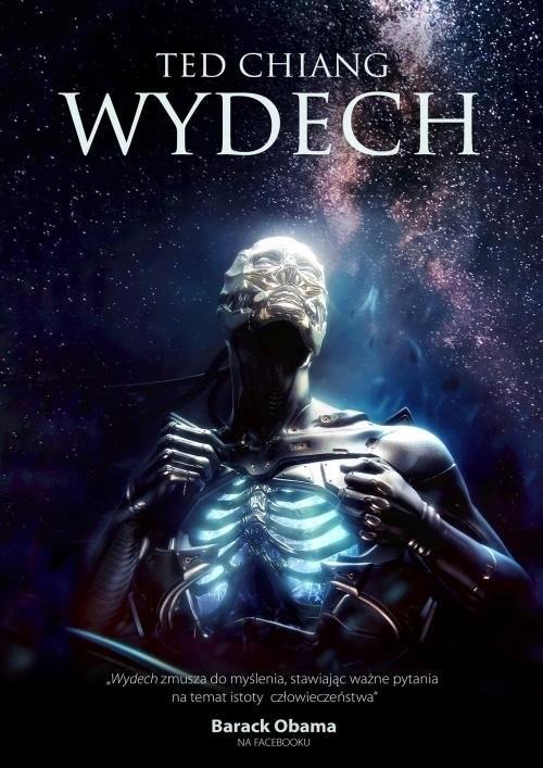 okładka Wydechksiążka      Ted Chiang