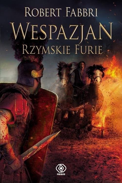 okładka Wespazjan Rzymskie Furieksiążka      Robert Fabbri