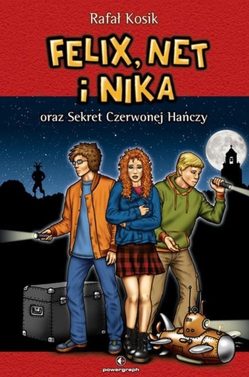 okładka Felix, Net i Nika oraz Sekret Czerwonej Hańczy Tom 12, Książka   Rafał Kosik