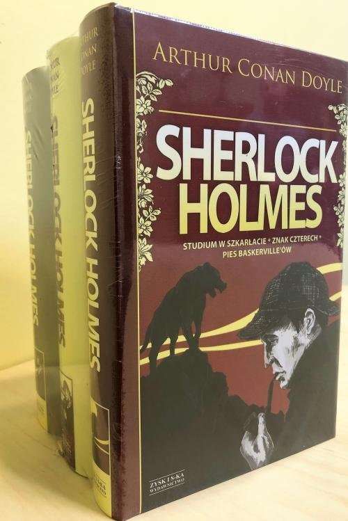 okładka Sherlock Holmes Tom 1-3 Pakietksiążka |  | Arthur Conan Doyle