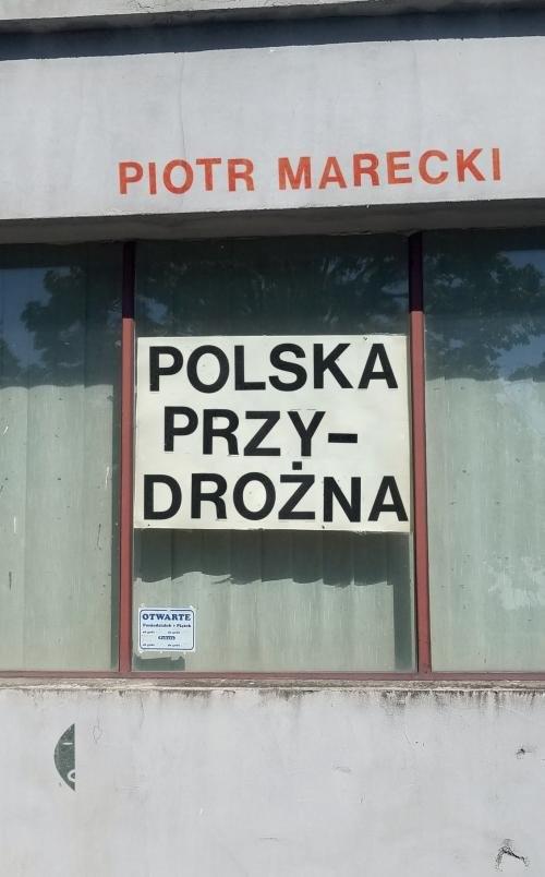 okładka Polska przydrożna, Książka | Piotr  Marecki