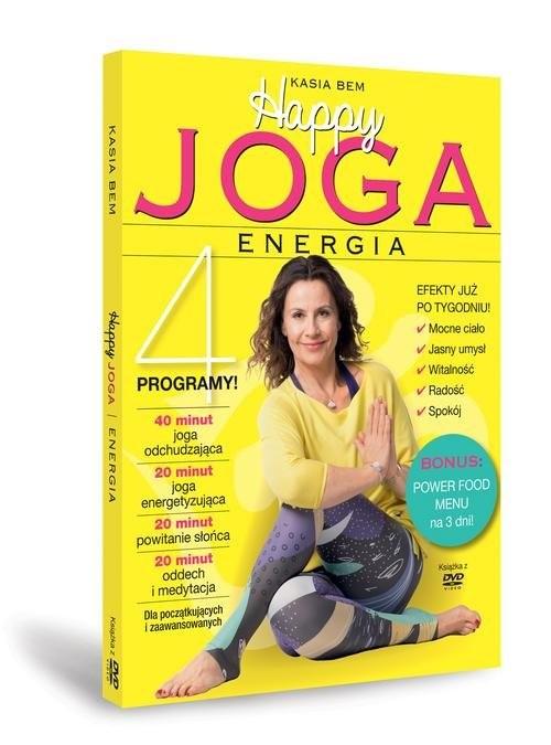 okładka Happy Joga Energia, Książka | Bem Kasia