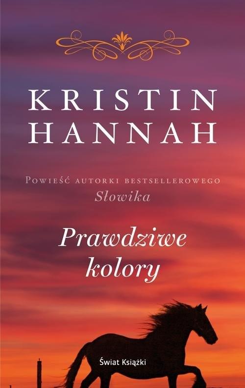 okładka Prawdziwe kolory, Książka   Hannah Kristin