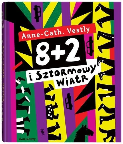 okładka 8 + 2 i Sztormowy Wiatrksiążka |  | Anne Cath Vestly