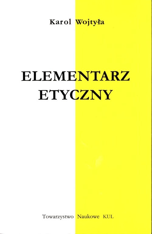 okładka Elementarz etycznyksiążka |  | Wojtyła Karol