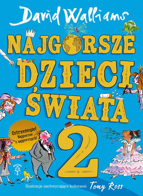 okładka Najgorsze dzieci świata 2książka |  | David  Walliams