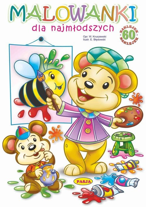 okładka Malowanki dla najmłodszychksiążka |  | Błędowski Ernest