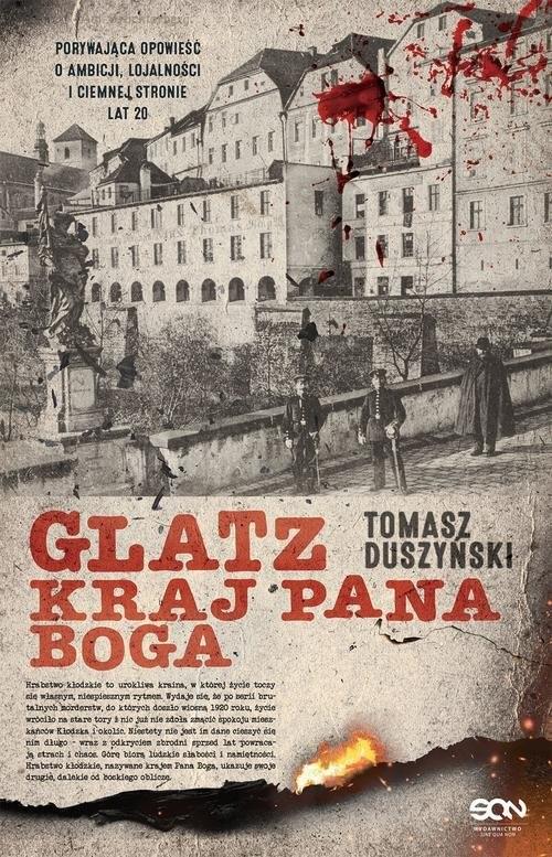okładka Glatz Kraj Pana Boga, Książka   Tomasz Duszyński