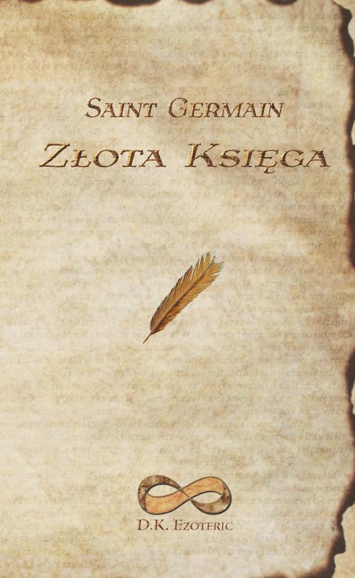 okładka Złota Księga, Książka | Saint Germain