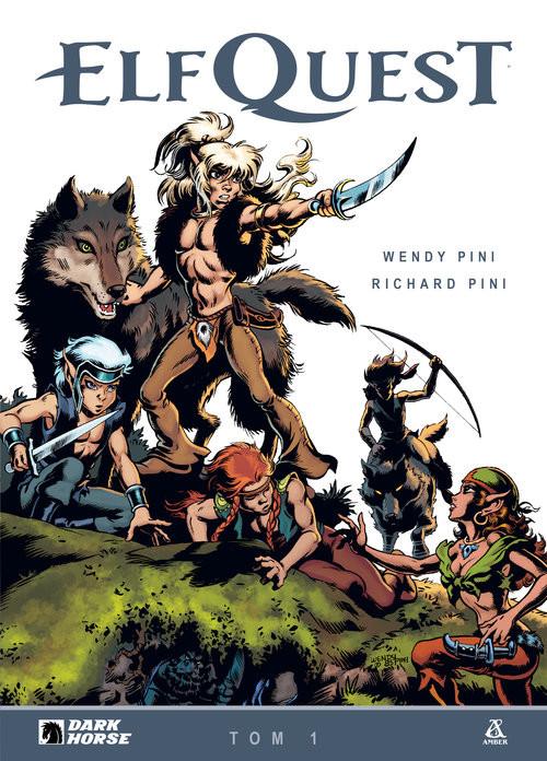okładka Elf Quest Tom 1książka |  | Wendy Pini, Richard Pini