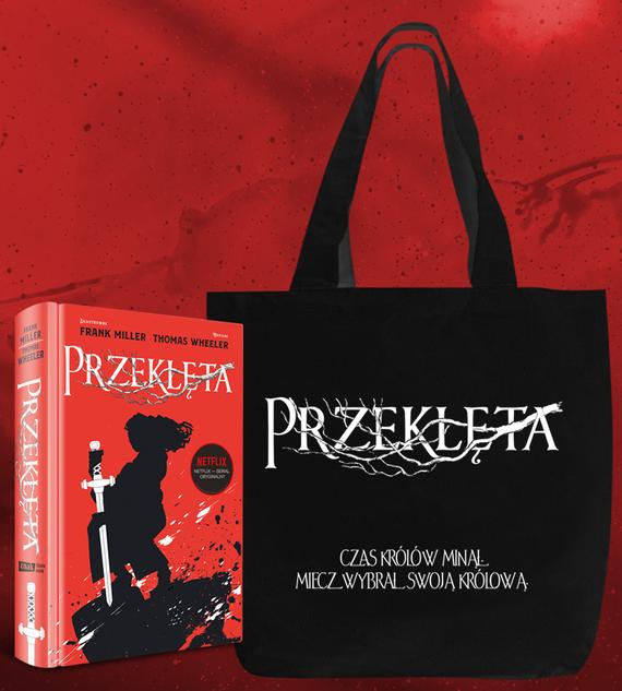 okładka Przeklęta - torbaksiążka      Frank Miller, Thomas Wheeler