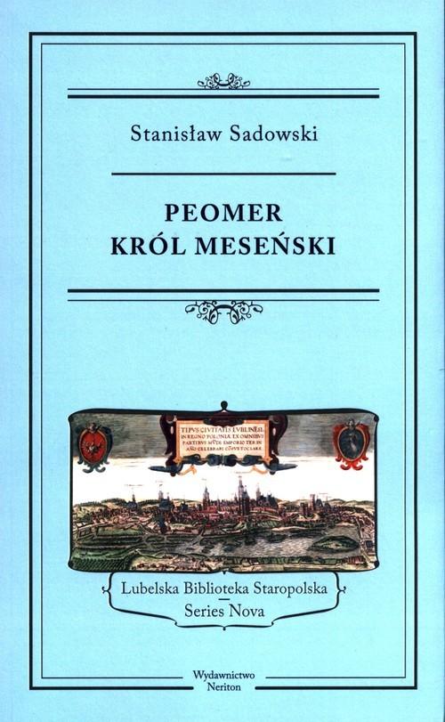 okładka Peomer, król meseński, Książka | Sadowski Stanisław