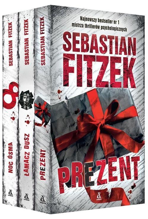 okładka Prezent / Łamacz dusz / Noc ósmaksiążka      Sebastian Fitzek