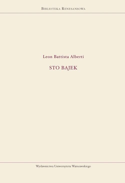 okładka Sto bajek, Książka | Battista Leon Alberti