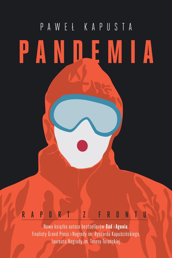 okładka Pandemia. Raport z frontuebook | epub, mobi | Paweł Kapusta