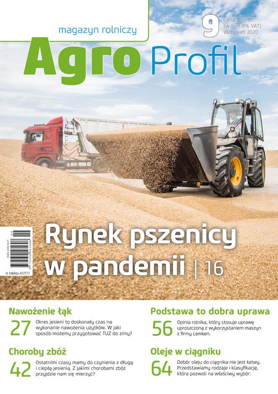 okładka Agro Profil 9/2020ebook | pdf | praca zbiorowa