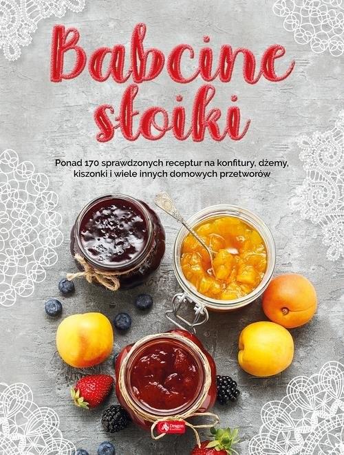 okładka Babcine słoiki, Książka | Bąk Jolanta