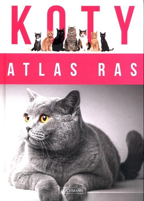 okładka Koty Atlas ras, Książka |