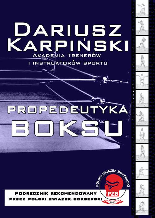 okładka Propedeutyka Boksu, Książka | Karpiński Dariusz