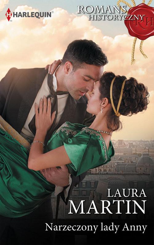 okładka Narzeczony lady Anny, Książka | Laura Martin