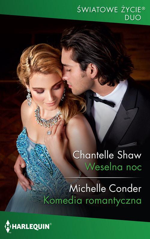 okładka Weselna nocksiążka      Chantelle Shaw