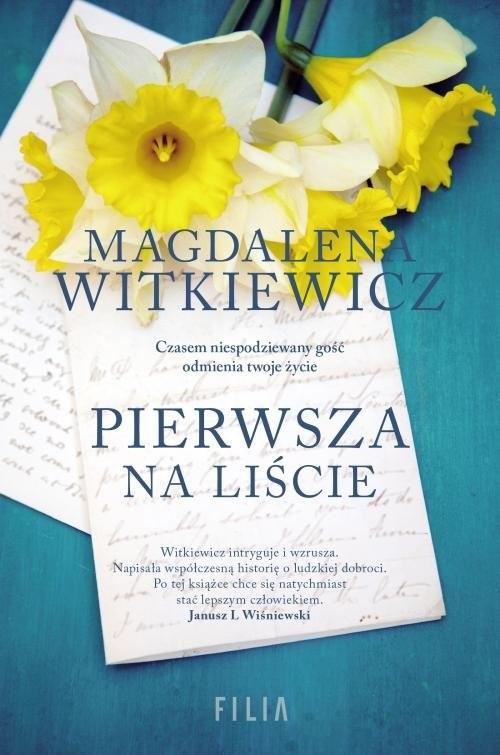 okładka Pierwsza na liścieksiążka |  | Magdalena Witkiewicz