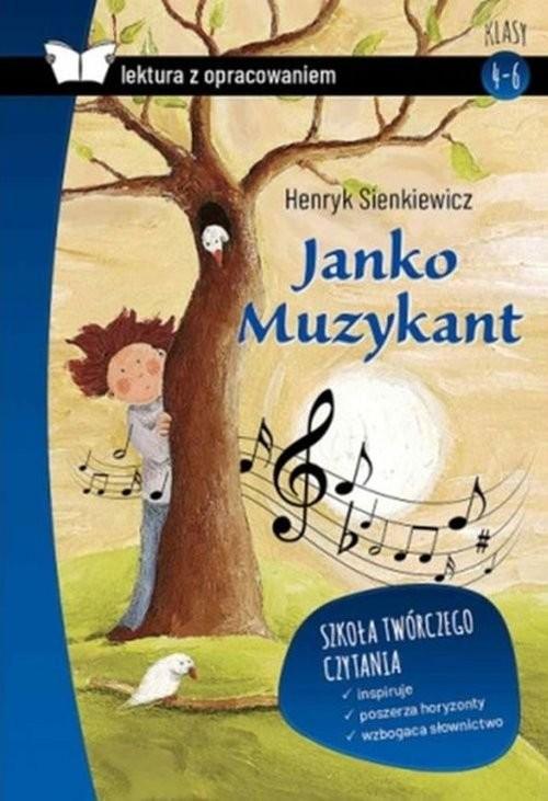 okładka Janko Muzykant Lektura z opracowaniem, Książka   Henryk Sienkiewicz