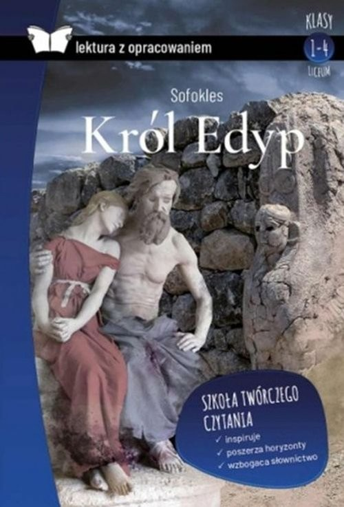okładka Król Edyp Lektura z opracowaniem, Książka   Sofokles