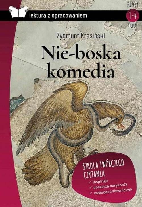 okładka Nie-boska komedia Lektura z opracowaniem, Książka   Zygmunt Krasiński