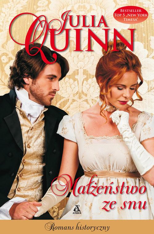 okładka Małżeństwo ze snuksiążka      Julia Quinn