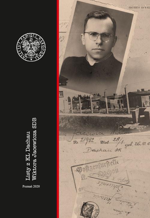 okładka Listy z KL Dachau Wiktora Jacewicza SDB, Książka |