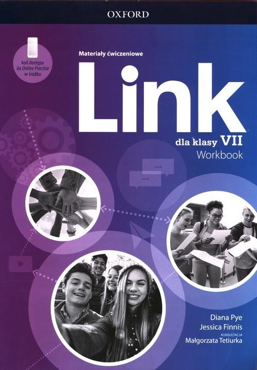 okładka Link 7 Materiały ćwiczeniowe z dostępem do Online Practice Szkoła podstawowaksiążka |  | Diana Pye, Jessica Finnis