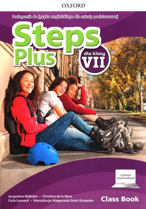 okładka Steps Plus 7 Podręcznik z cyfrowym odzwierciedleniem Szkoła podstawowaksiążka |  | Jacqueline Walkden, la Mare Christina de, Carla Leonard