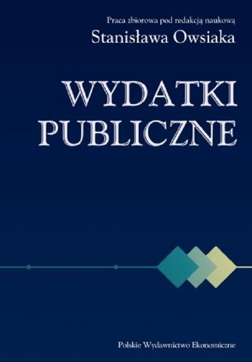 okładka Wydatki publiczne, Książka |