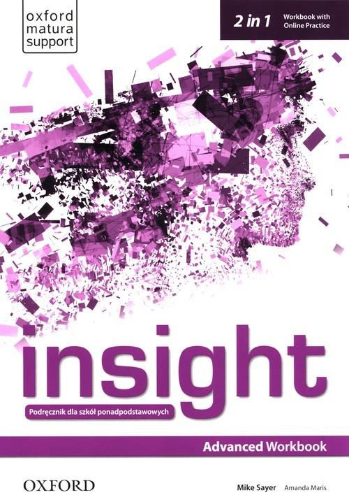 okładka Insight Advanced Workbook with Online Practice Szkoły ponadpodstawoweksiążka |  | Mike Sayer, Amanda Maris