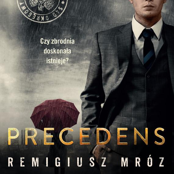 okładka Precedensaudiobook   MP3   Remigiusz Mróz