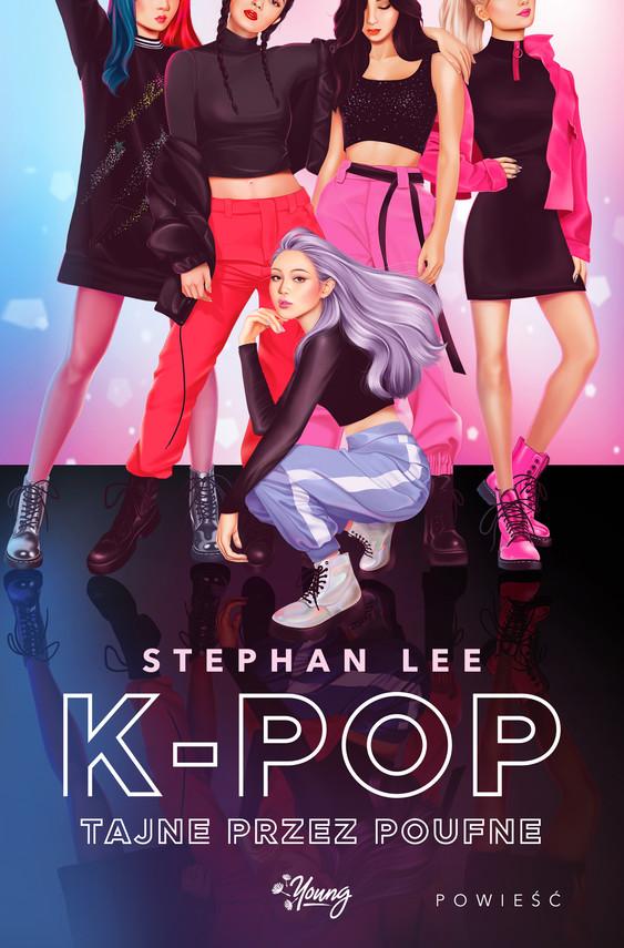 okładka K-pop tajne przez poufne, Ebook   Stephan Lee