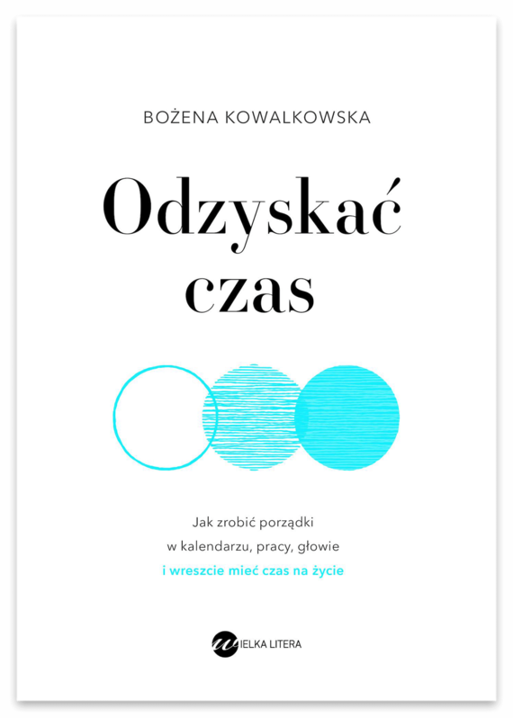 okładka Odzyskać czasebook | epub, mobi | Bożena  Kowalkowska