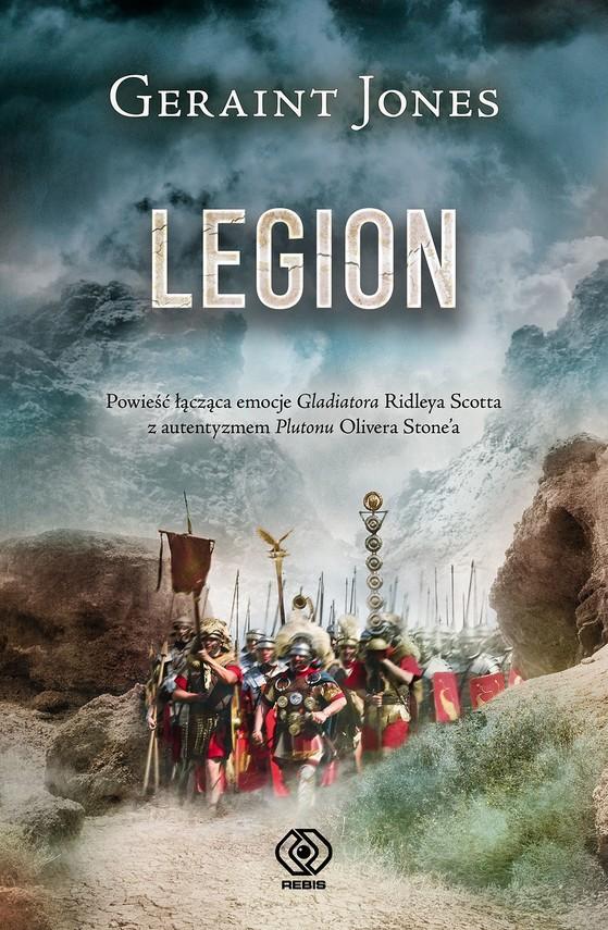 okładka Legionebook | epub, mobi | Geraint Jones