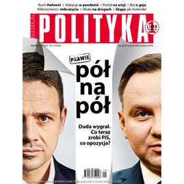 okładka AudioPolityka Nr 29 z 15 lipca 2020 rokuaudiobook | MP3 | Polityka
