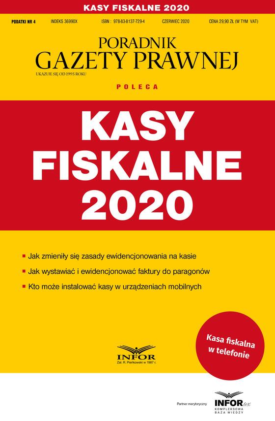 okładka Kasy fiskalne 2020ebook | pdf | Praca Zbiorowa
