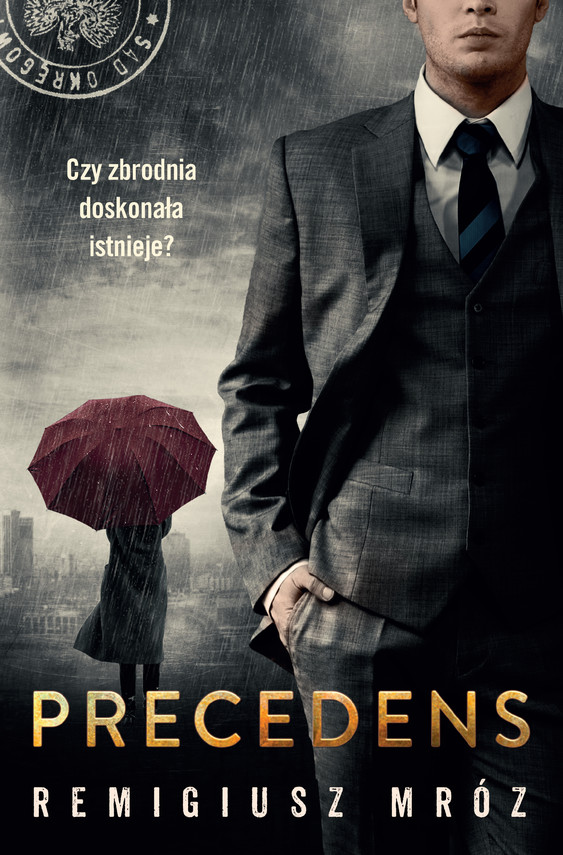 okładka Precedens, Ebook | Remigiusz Mróz