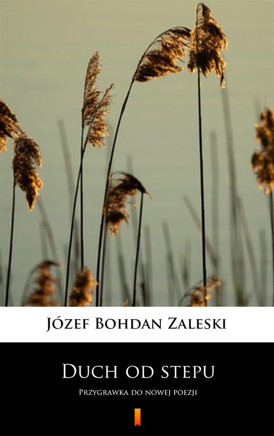 okładka Duch od stepuebook   epub, mobi   Józef Bohdan Zaleski