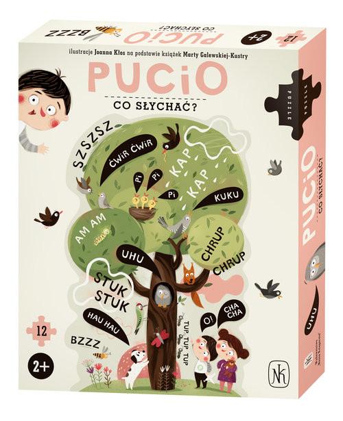 okładka Pucio Co słychać?książka      Galewska-Kustra Marta